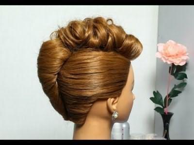 Святкові зачіски на волосся середньої довжини