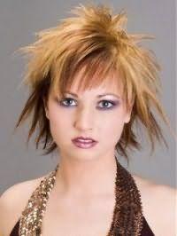 Стрижка каскад з чубком і мелірування для середніх волосся