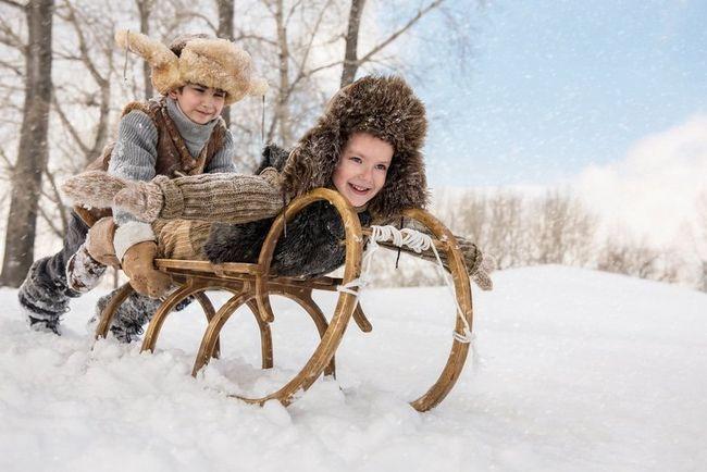 Зимовий спортивний інвентар