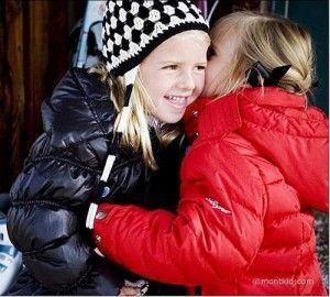 Зимовий одяг для дівчаток сезону 2011/2012